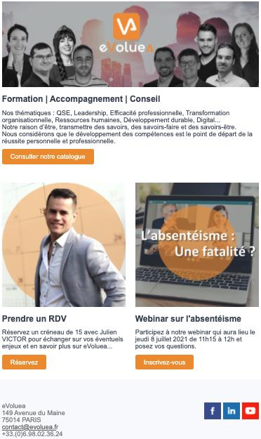 Newsletter eVoluea